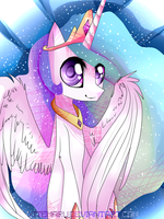 Princess Celestia by Xitemaru
