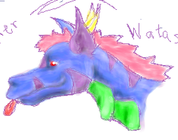 Jyx Pchat Doodle by BlueWerewolf