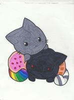 Nyan cat coloring page by jaybird28