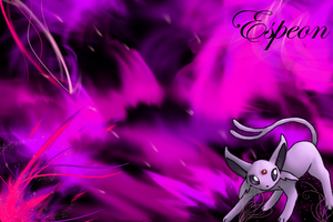 Espeon Wallpaper by SlaveWolfy
