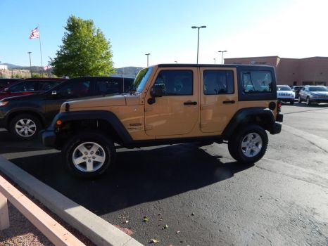 2013 Jeep Wrangler Unlimited Sport by TheHunteroftheUndead