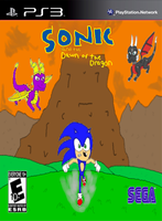 SATDOTD game cover by SonicGuy15