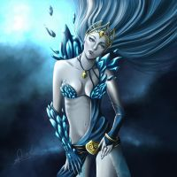 Frostqueen-Janna by Churail
