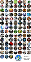 95 Game Icons by Titch-IX