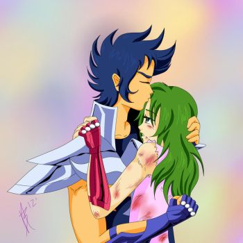 Ikki y Shun by Flower-Soup