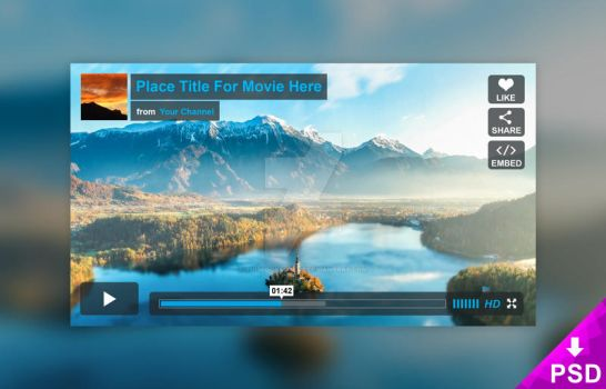 Vimeo Player Mockup by thislooksgreat