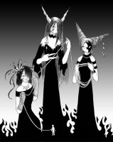 The 3 Fates by ColorMeltdown