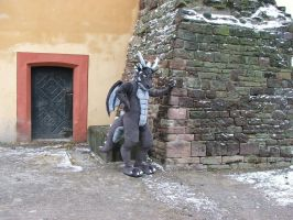 First Dragon Fursuit Costume 2007 Bengges by AtalontheDeer