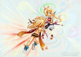 Dissidia Aces - 1st Round by oOFlorianeOo