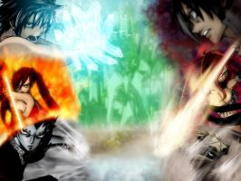 ALL OUT WAR by Gray-Fullbuster