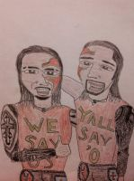 The Usos by PretentiousProdigy