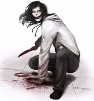 Jeff the killer by SUCHanARTIST13