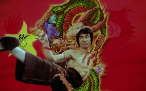 Bruce Lee - Chinese Boxer by michello1976