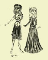 Eponine and Cosette by Lady-Alanna648