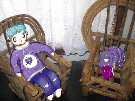What is my life... and why do I have mini chairs by Kushimu