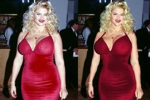 Anna Nicole Smith- Before and After by AMac145