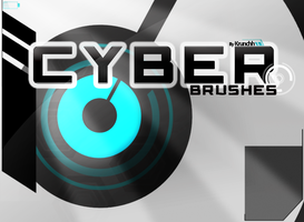 Cyber brush pack by krunchh