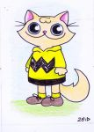 Funny cat is Charlie Brown by KingZoidLord