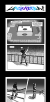 Luchadora, First Scenario, Pages 1 to 4 by White-Rose-Brian