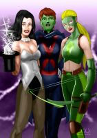 Young Justice by Variable-Edge