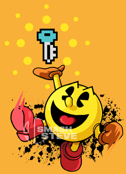 Commission: Pac-Man by Tails1000