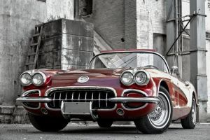 Little Red Corvette by PussyKat-Pinups