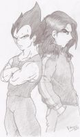 vegeta and me :D by xXUninstallXx