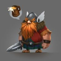 Little viking by funzee