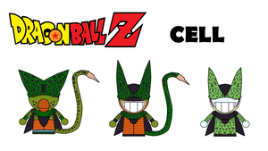 Dragonball Z Combat Dudes Cell by AWE-SAM