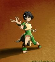 Avatar: Toph by Mattierial