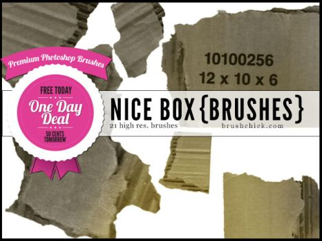 PREMIUM HIGH-RES Photoshop Brushes 18 Nice Box by brushchick