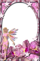 Lav's PNG Frames95 with fairy of joannastar-stock by Lavandalu