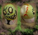 Zombie Easter Egg by WonderDookie
