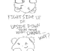 Right side up or Upside down? by TheForgottenWolf