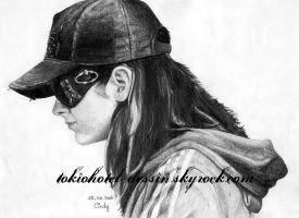 Bill Kaulitz 3 by cindy-drawings