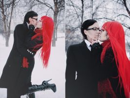 Will x Grell by Dantelian