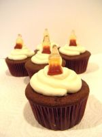 Crown Royal and Coke Cupcakes by Stephanefalies