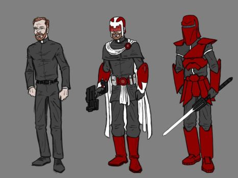Father Michael character and costume designs 1 by Tim4