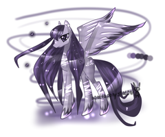 pony adopt corrupted melody auction CLOSED by AquaGalaxy