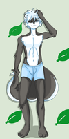 Skunk in boxers ^^  ( leaf ) by 12luigi