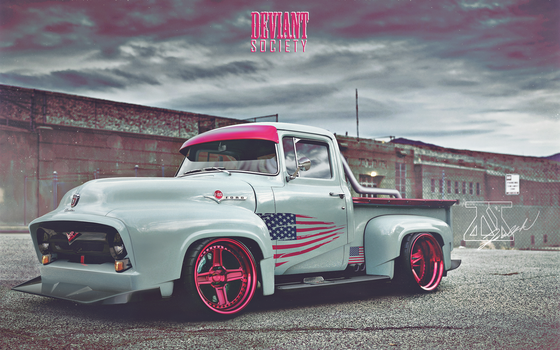 DeviantSociety Ford F-100 by Zsoltee
