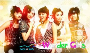 Banner Wonder Girls by nanomeow