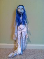 Corpse Bride Emily Doll by Piper-McLean7