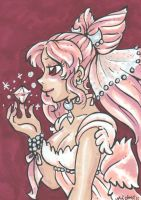 ACEO: Small Lady by nickyflamingo