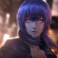 Ghost in the Shell: Motoko by raikoart