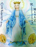 Our Lady of Miraculous Medal by errisirre