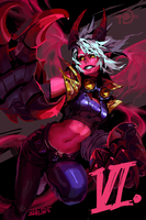 Vi (for Patreon) by shilin