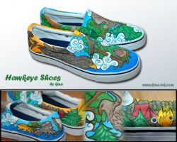 Hawkeye Shoes by kina