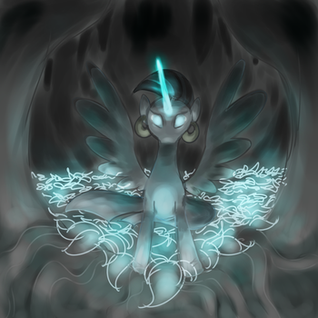 Princess of the Everfree by Perrydotto
