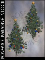Xmas Tree 007 by poserfan-stock